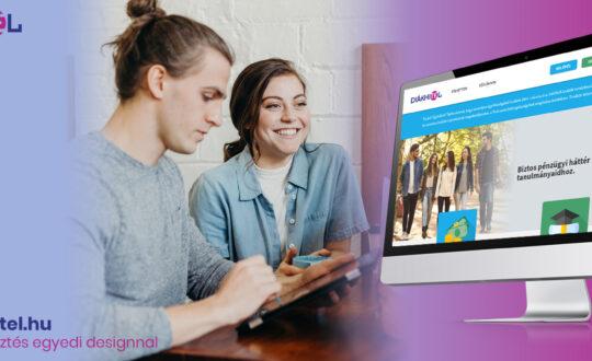 diákhitel webfejlesztés